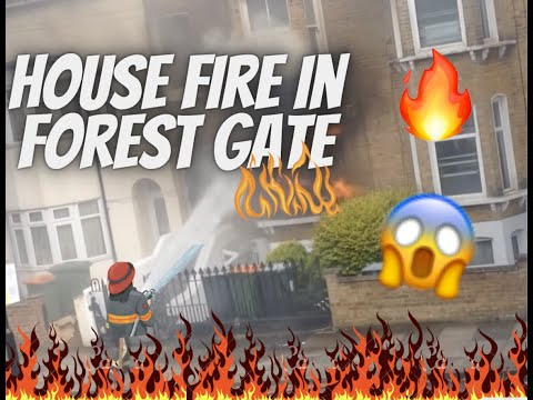 House Fire in Forest Gate