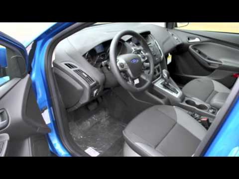 2012 Ford Focus SE -- Blue Candy Metallic