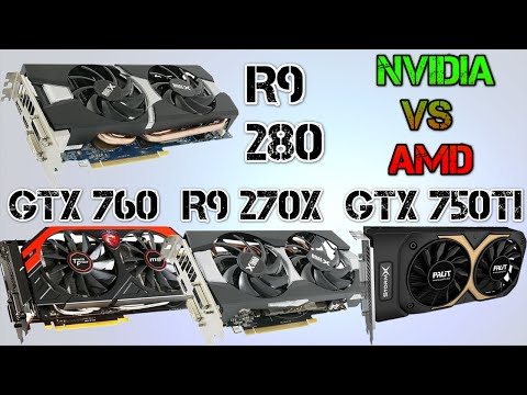 AMD R9 280 vs NVIDIA GTX 760 vs R9 270X vs GTX 750TI | BATTLEFIELD 4 | COD GHOSTS | CRYSIS 3