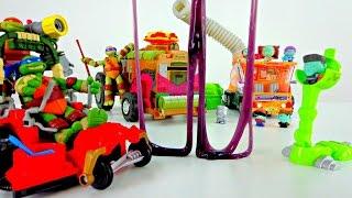 ЗОМБИ VS ЧЕРЕПАШКИ НИНДЗЯ! Видео с игрушками для детей: Кто украл нашу ПИЦЦУ?! Месть на подходе!