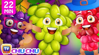 Grape Song | Learn Fruits for Kids and More Educational Nursery Rhymes & Kids Songs by ChuChu TV