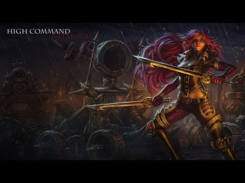 High Command Katarina Skin Spotlight [Model Update]