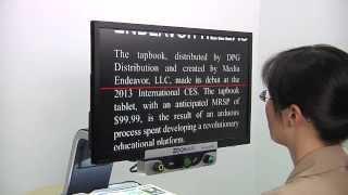 Why choose Zoomax Aurora HD 24''desktop video magnifier?