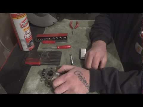 How To Service A Honda Carburetor (Most Honda Engines)