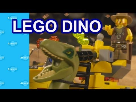 LEGO Dino Raptor Chase Set LEGOs Toy Review Unboxing