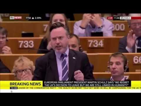 A must watch - European Parliament gives standing ovation to Scotland