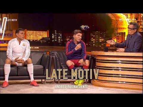 VIDEO: LATE MOTIV - CRISTIANO Y MESSI BY MARTÍN BOSSI  | #LATEMOTIV37