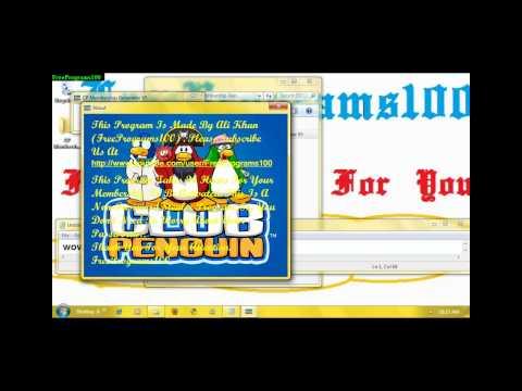 Club Penguin Membership Generator V5 (With Link)! (HD)