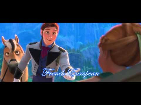 Frozen - Anna meets Hans #1 (both French)
