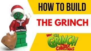 HOW TO Build THE GRINCH as a LEGO Minifigure!