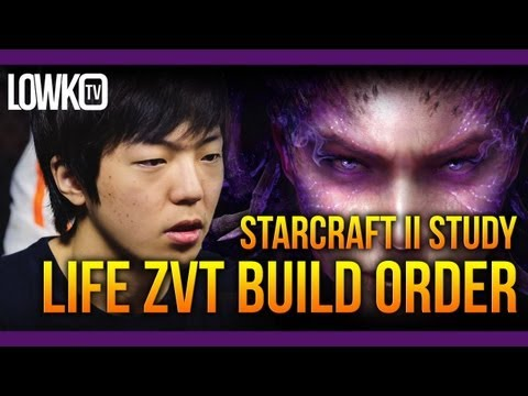 Heart of the Swarm Zerg Build Order - ST.Life's Zerg versus Terran - StarCraft II Study