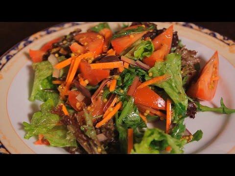 Итальянский постный салат. Рецепт от шеф-повара.