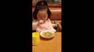 1歳4カ月にしては早食いなゆず              Yuzu   1year 4months