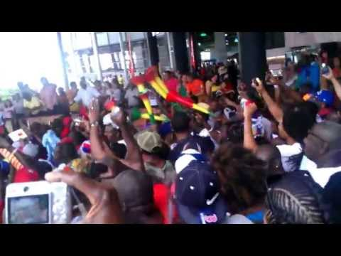 Spain vs Haiti 2013 post game