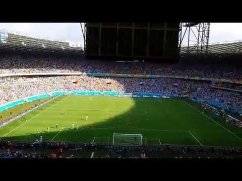 Gol de Lionel Messi.. Argentina 1 - Iran 0