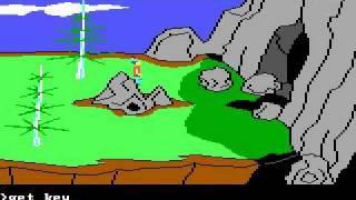King's Quest II (2) speedrun in 10:34 (fast speed max)