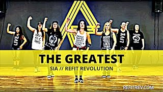 """download lagu """"the Greatest"""" By Sia  Dance Fitness Choreography Toning gratis"""
