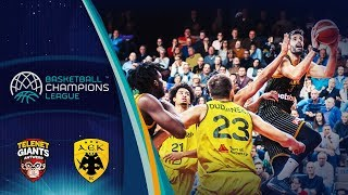 LIVE Telenet Giants Antwerp v AEK Basketball Champions League 2019 GeoRestrictions apply!