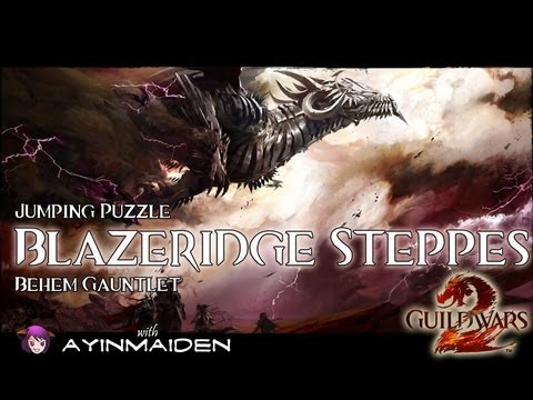 ★ Guild Wars 2 ★ - Jumping Puzzle - Blazeridge Steppes (Behem Gauntlet)