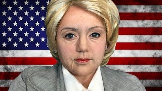 HILLARY CLINTON MAKEUP TUTORIAL!