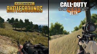 Call of Duty: Black Ops 4 - Blackout vs PUBG | Direct Comparison