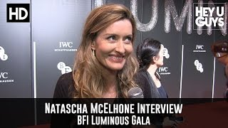 Natascha McElhone Interview - BFI Luminous Gala 2015