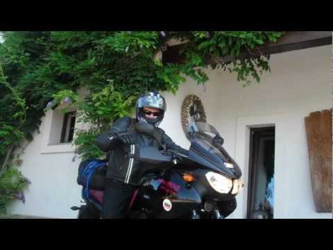 Motorcycle trip across Europe (Yamaha TDM 900) Part 1 (Czech Rep,  Hungary, Serbia, Bulgaria)