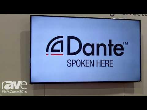 InfoComm 2016: Audinate Features Dante Software Partners