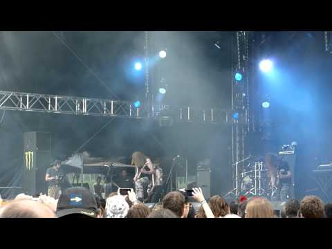 Kalmah - Hook the Monster (live) @ Summer Breeze Festival 2011