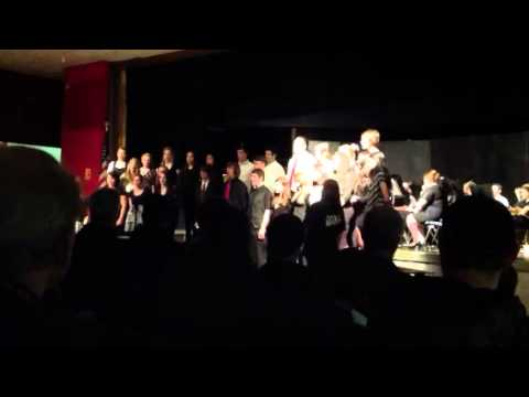 Illinois Valley High school choir