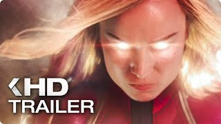 CAPTAIN MARVEL All Clips & Trailers (2019)