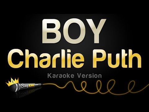 Charlie Puth - BOY (Karaoke Version)