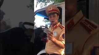 Việt TV- CSGT Hải Dương, bắt lỗi mà không dám lập biên bản, khi tắt máy quay đe dọa tài xế