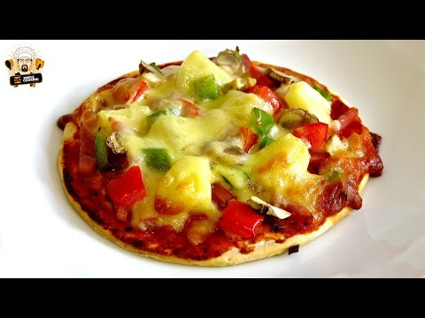 How to Make Mini Supreme Pizza via gk-howto-videos.blogspot.com pizza recipes