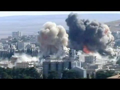 Kobani Battle News : Iraqi Kurd Peshmerga Against IS Militants