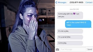 You Won't Believe What Made Her Cry... (insanely scary)