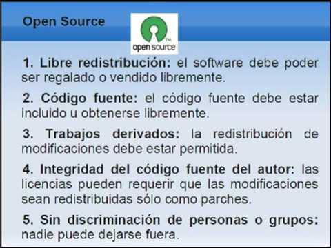Software Libre y Open Source