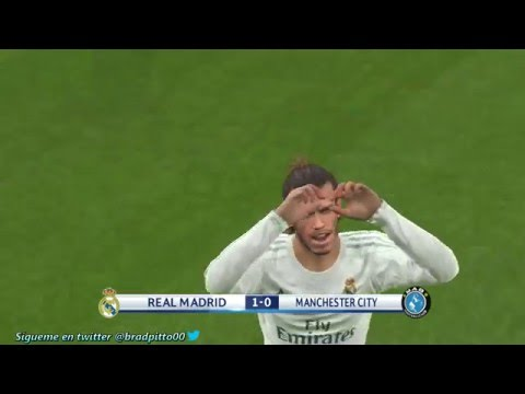 PES 2016  SIMULATION Real Madrid vs Manchester City - UEFA Champions League 2016