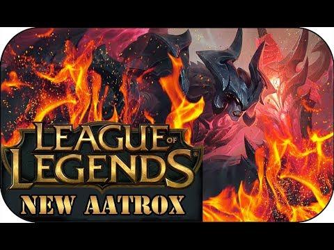 ERSTER TEST MIT DEM NEUEN AATROX 🎮 League of Legends Tomek