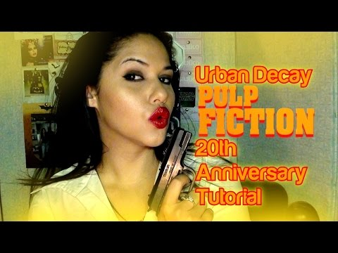 Urban Decay PULP FICTION Tutorial