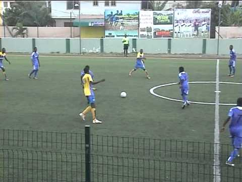Six-a-side youth (15-18 yrs) football in Dzorwulu, Accra-Ghana