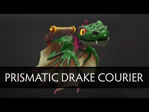 Dota 2 Prismatic Drake Courier