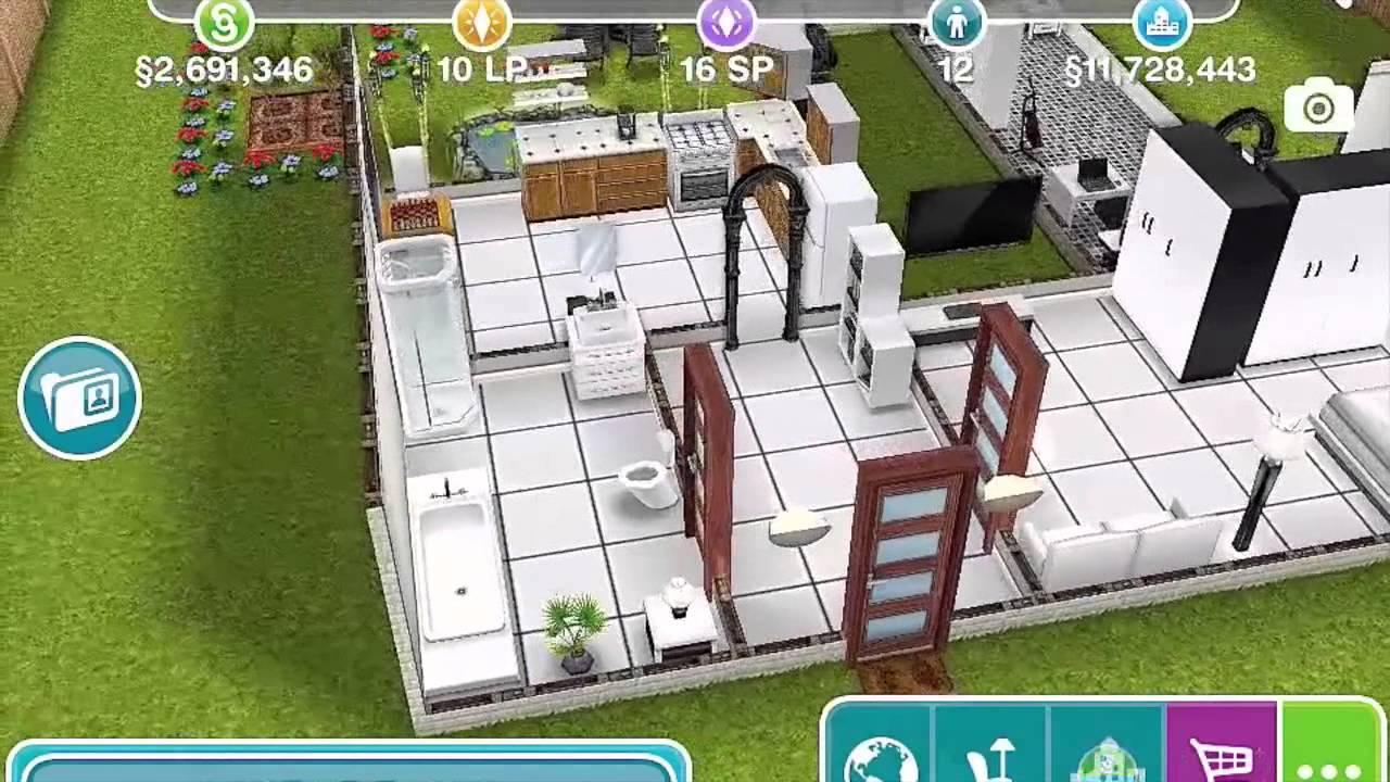 Sims Freeplay Dark Secret House Mods 2 YouTube