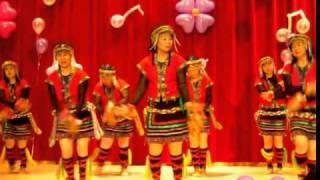 991218台灣媳婦晚會山地舞表演~我們都是一家人