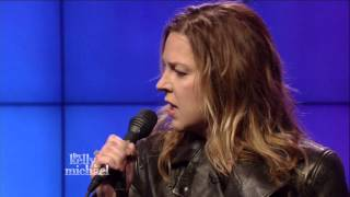 Diana Krall  Sorry Seems To Be The Hardest Word   Live! With Kelly and Michael 2015 02 02