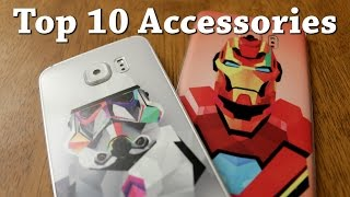 Top 10 Accessories for Galaxy Note 5, S6, S6 Edge, and S6 Edge Plus!