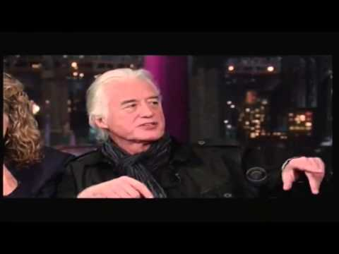 Led Zeppelin entrevista David Letterman legendado PT-BR