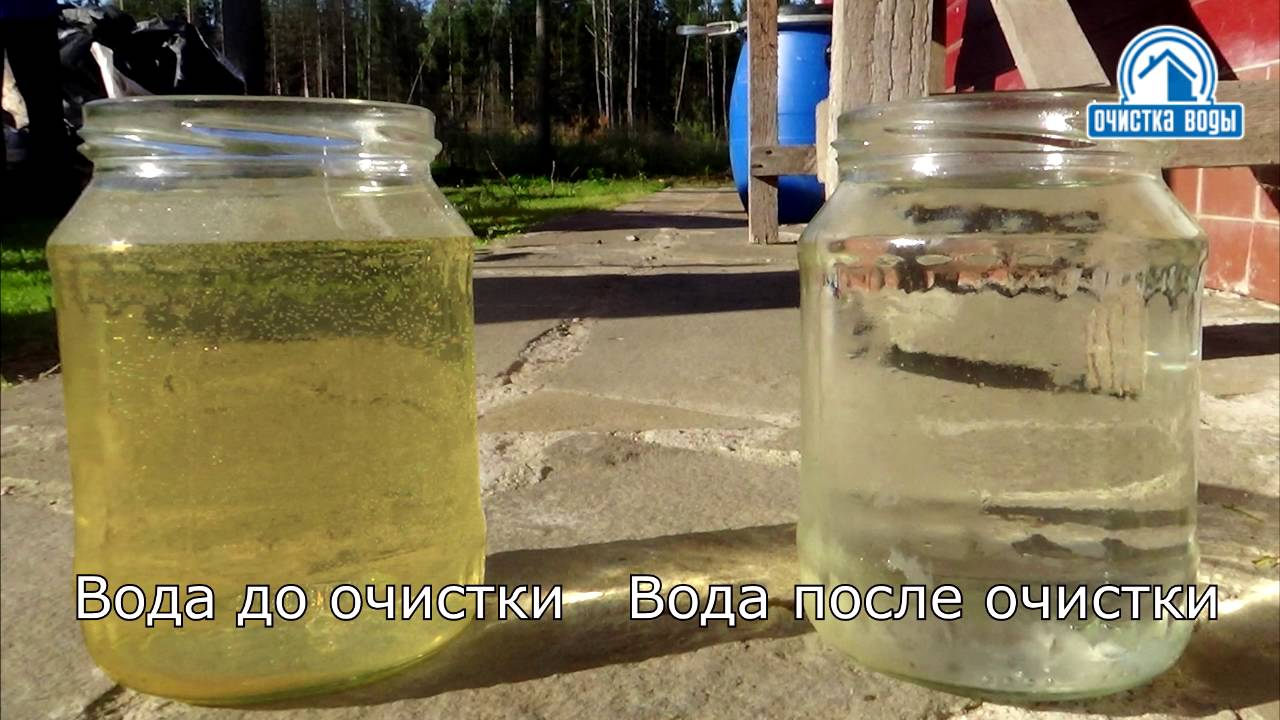 Очистка воды от железа и марганца своими руками 72
