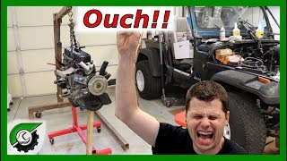 Clutch Is Destroyed, and My Finger: Rebuild Part 27