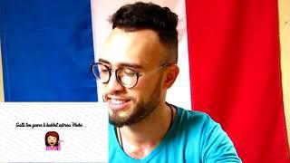 OK BB - El Badman X Mc Lama - Reaction مغربي ستمع لأغنية جزائرية
